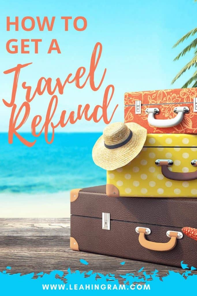 how to get a travel refund