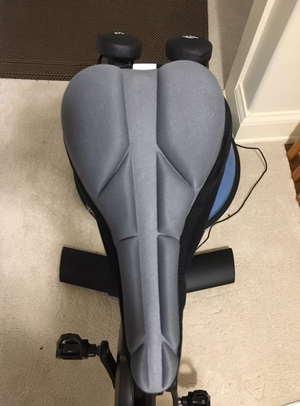 komfy gel seat cover padded peloton