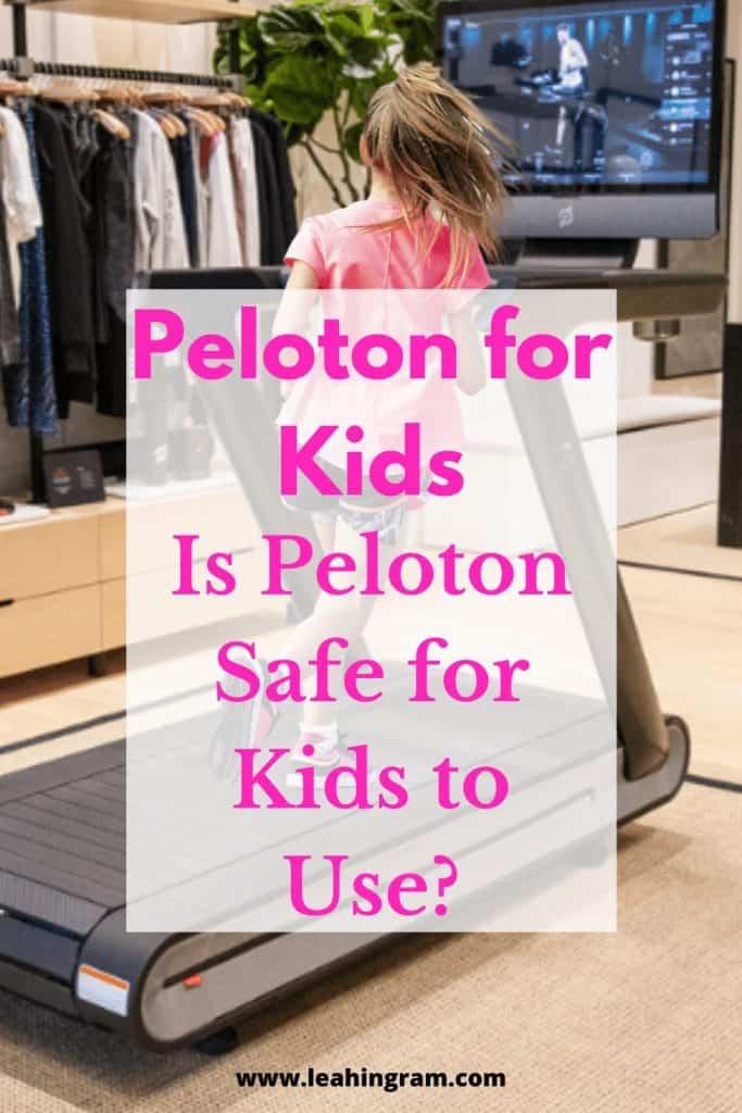 girl running on tread peloton for kids