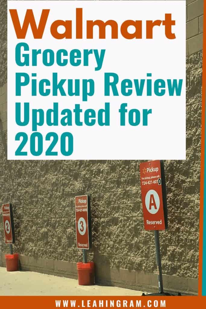 walmart grocery pickup review updated 2020 pandemic covid19 coronavirus