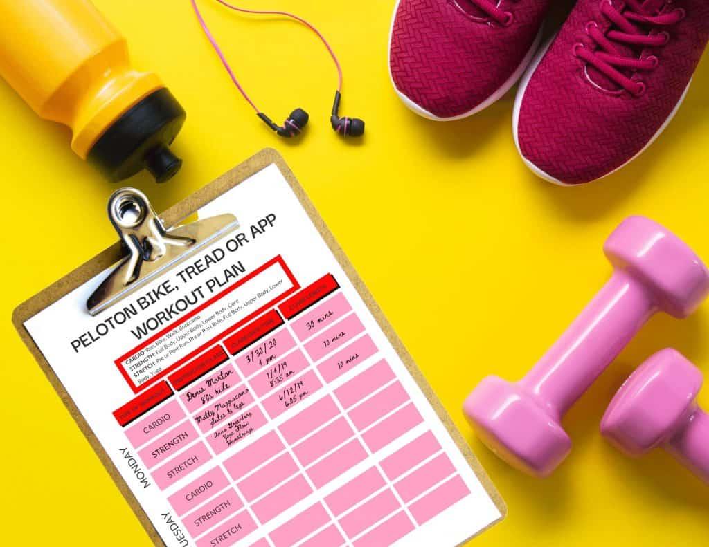 peloton workout plan pdf