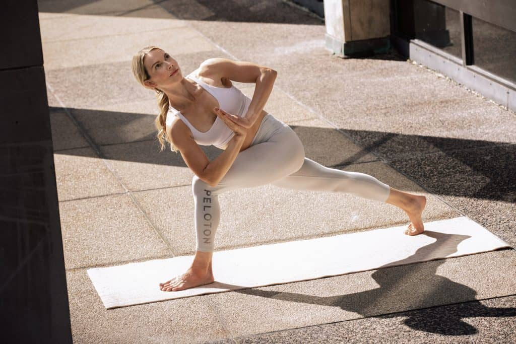 peloton yoga instructor kristin mcgee