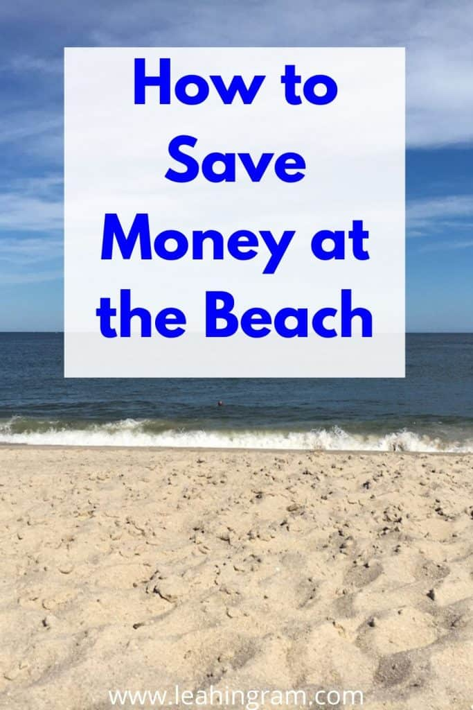 save money at the beach