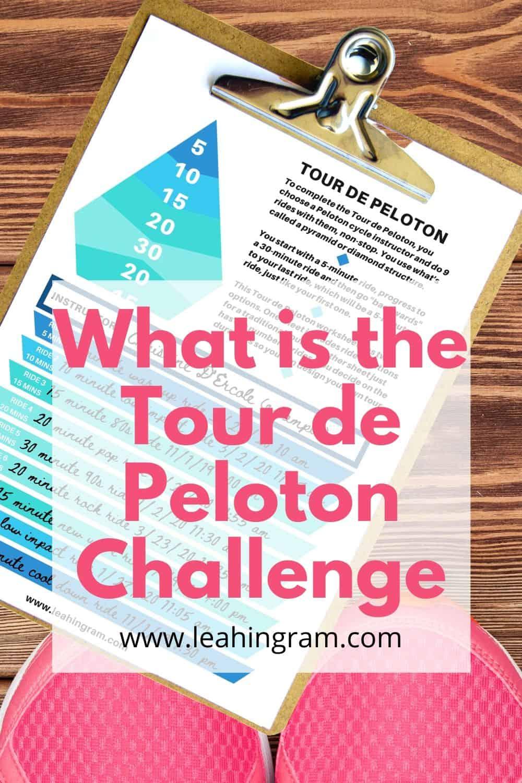 tour de peloton challenge