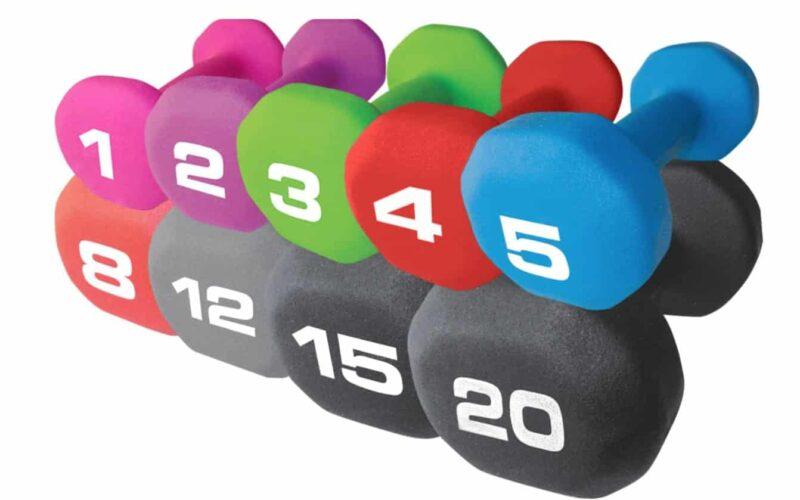 Best Weights for Peloton