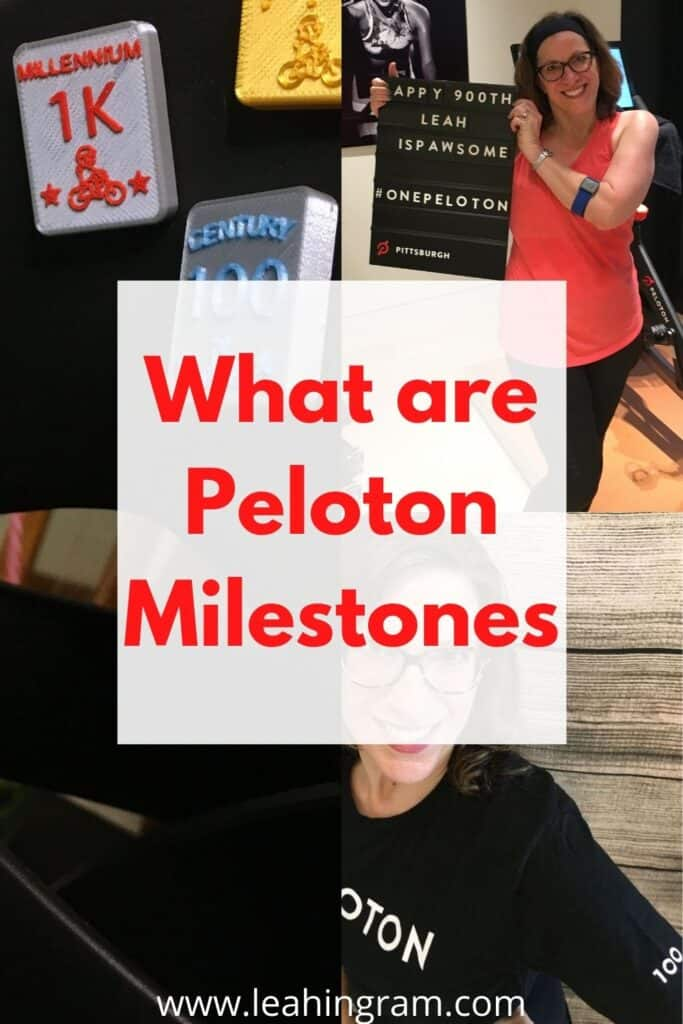 what are peloton milestones