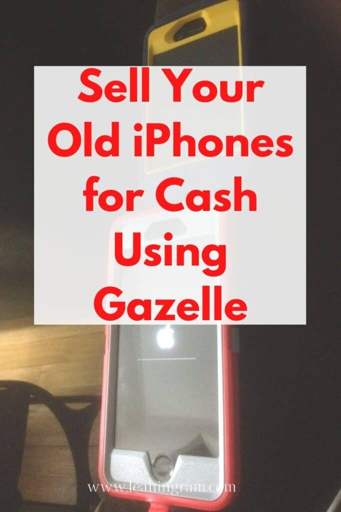 sell electronics on gazelle pin old and new iphones