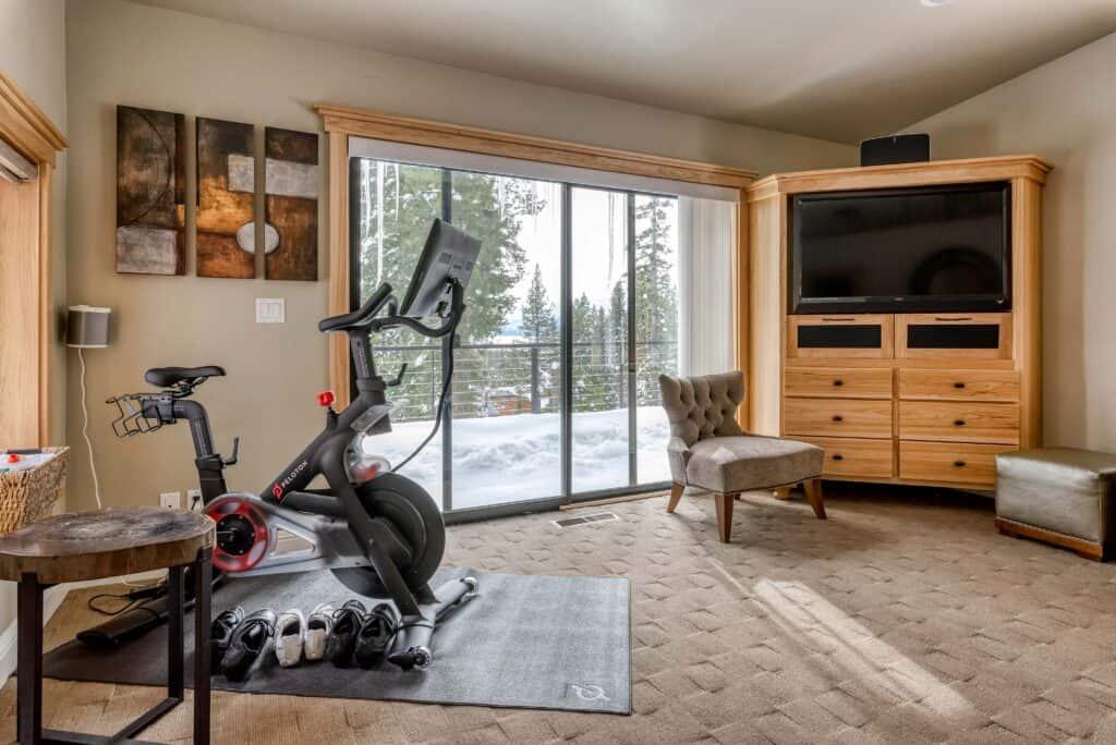 north lake tahoe turnkey vacation rental peloton