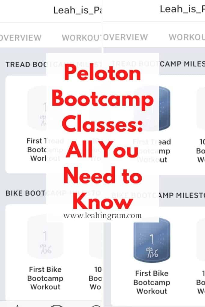 peloton bootcamp classes pins 9