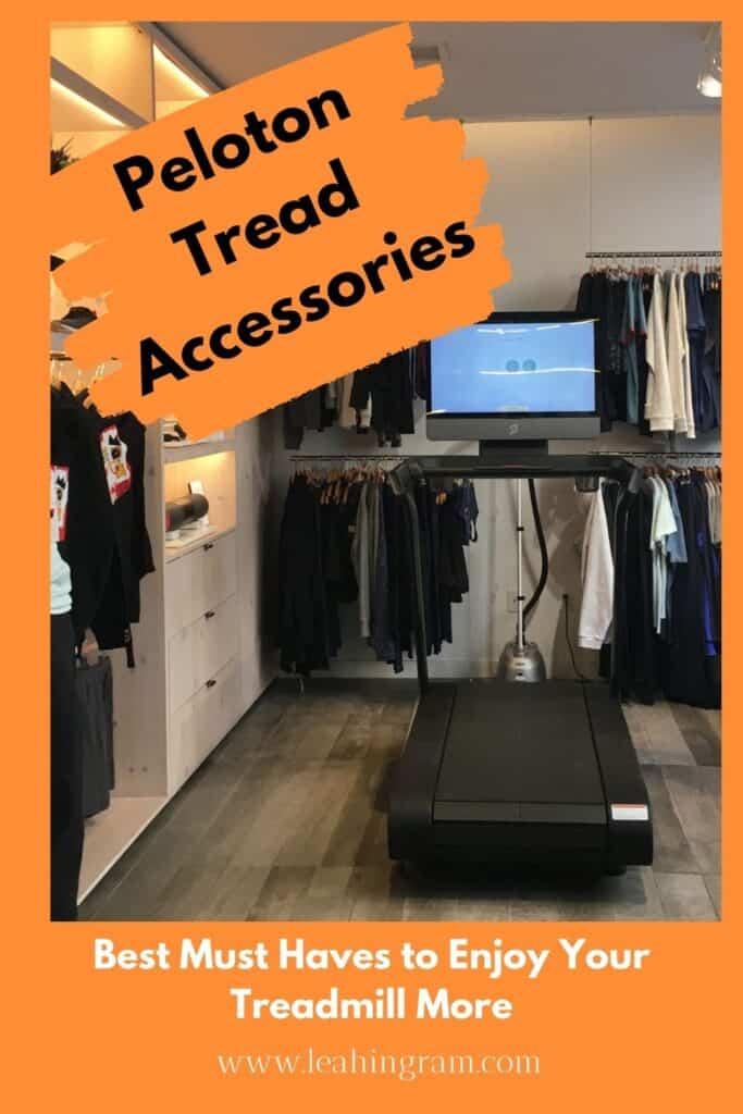 peloton tread accessories