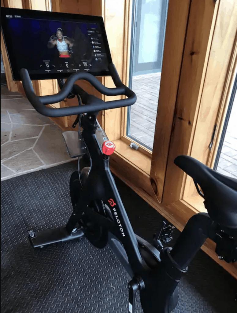peloton bike vrbo vacation rental wisconsin