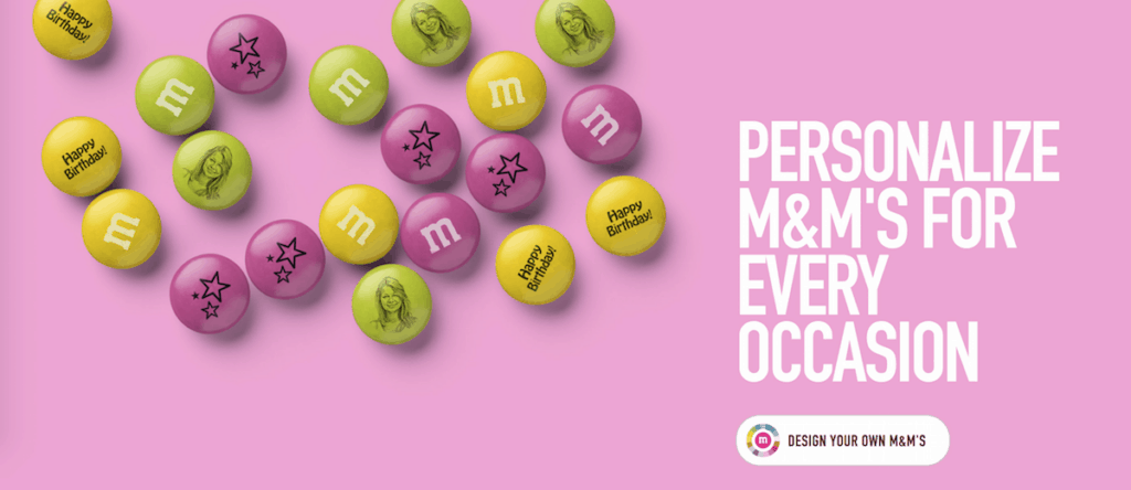 personalized m and ms candies