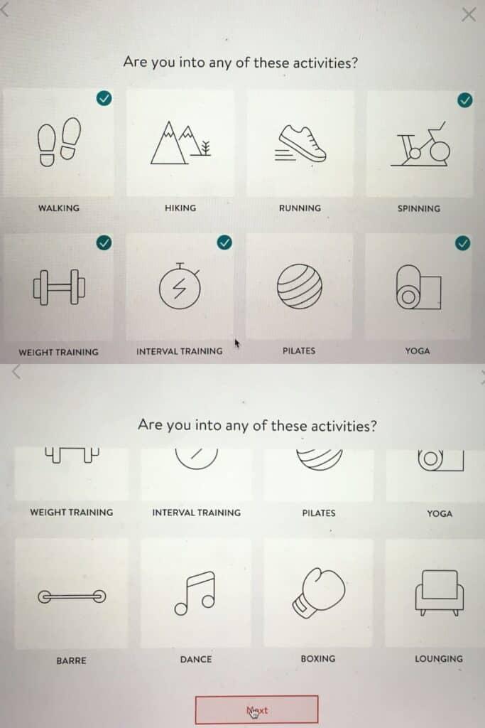 stitch fix for workout clothes activities quiz grid