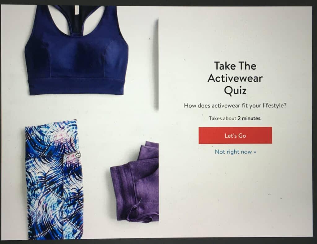 stitch fix take the activewear quiz