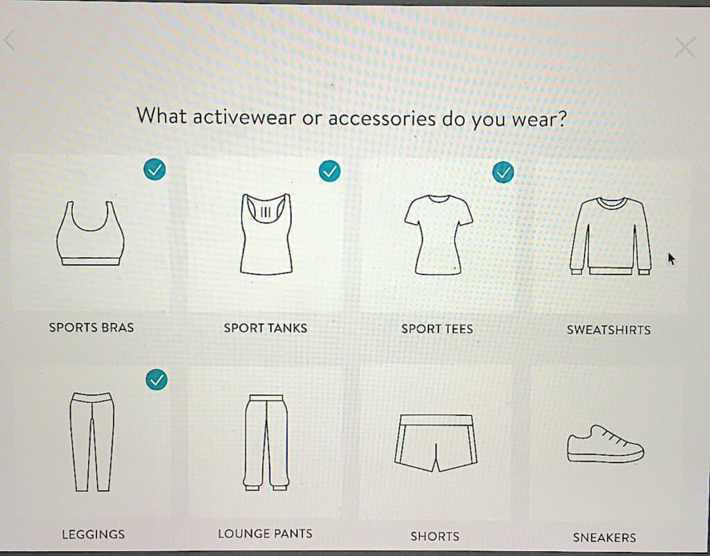 activewear you need
