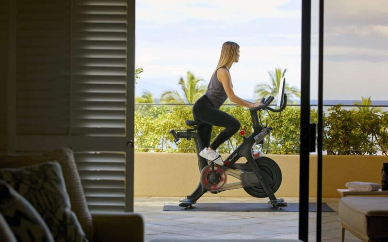 Hawaii Hotels with Peloton Bikes